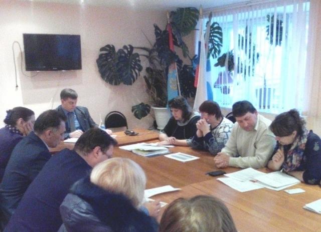 Заседание комиссии по бюджетным проектировкам