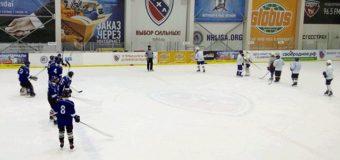 Состоялась вторая игра турнира по хоккею