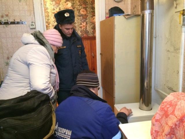 Проводится проверка газового оборудования в квартирах горожан