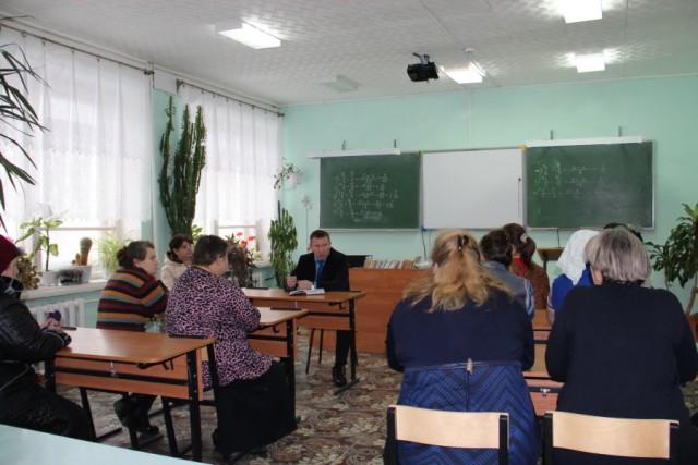 Состоялась рабочая поездка в с. Колшево Дмитриевского сельского поселения.