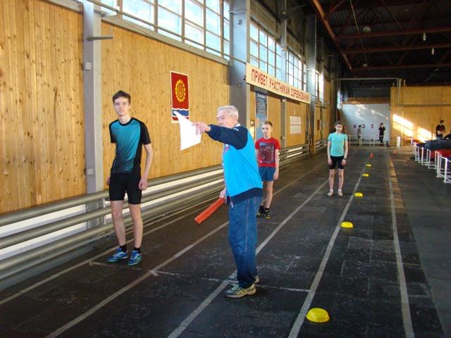 Соревнуются легкоатлеты