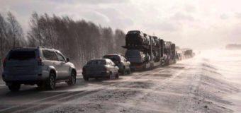 В Удмуртской республики ожидаются снежные заносы
