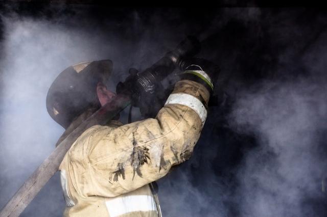 Пожар в городе Соликамске, есть пострадавшие