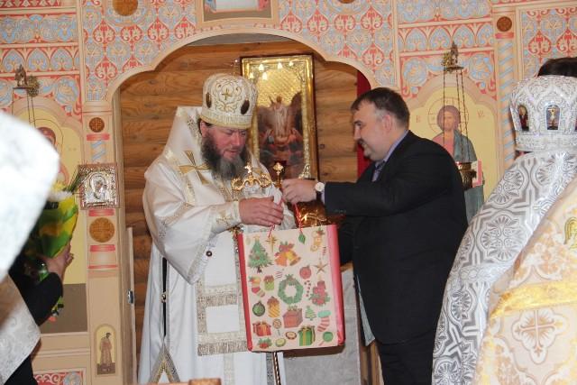 Епископ Кинешемский и Палехский Иларион осветил храм в селе Жажлево
