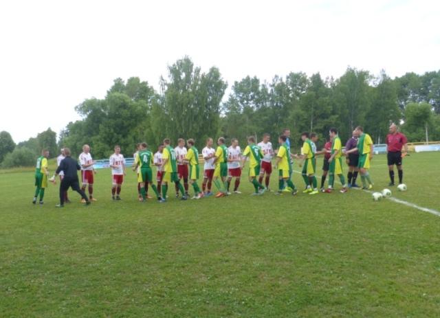 Футбольная команда на второй турнирной строчке