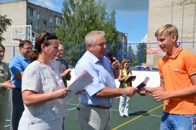 Спортивно-трудовой отряд главы Заволжского городского поселения завершил работу