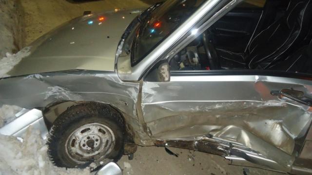 В ДТП в Мичуринске пострадал пьяный водитель