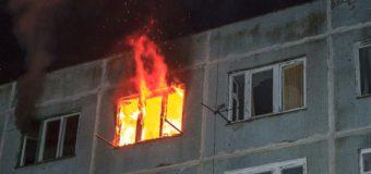 В Ярославле в многоквартирном жилом доме произошел пожар
