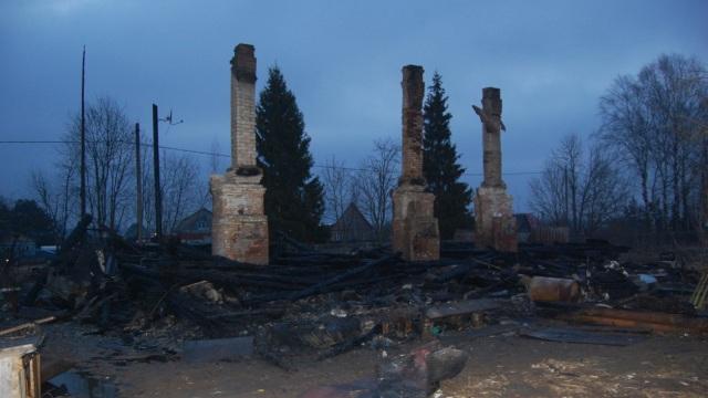 Впоселке Завидово напожаре погибли люди