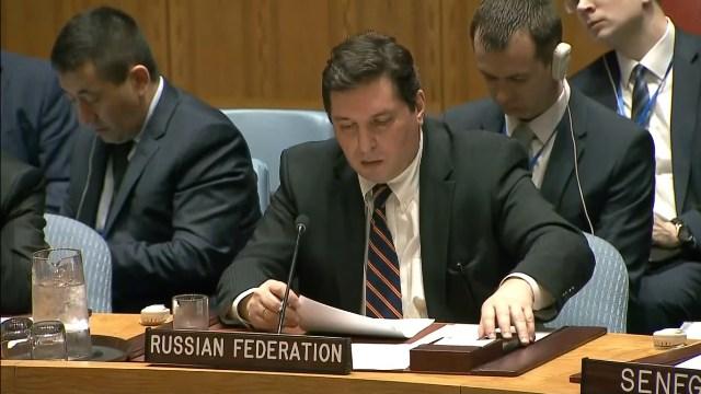 Россия заблокировала проект резолюции Совбеза ООН по химической атаке в Сирии