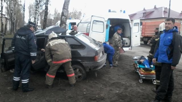 Жуткое ДТП в Костромской области, есть пострадавшие