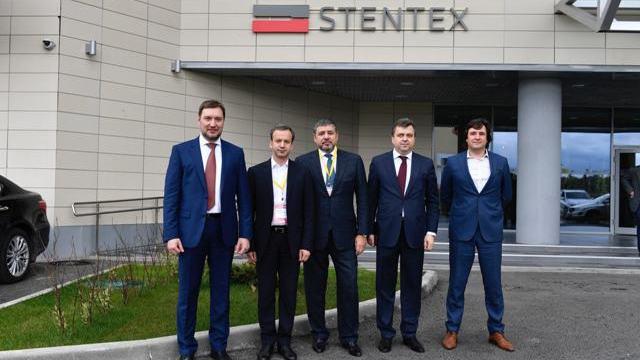 Значение деятельности НПК «Стентекс» в России оценил Аркадий Дворкович