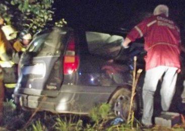 В Молодечненском районе иномарка влетела в дерево, есть пострадавшие
