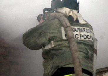 В Костроме сгорел дом, есть пострадавшие