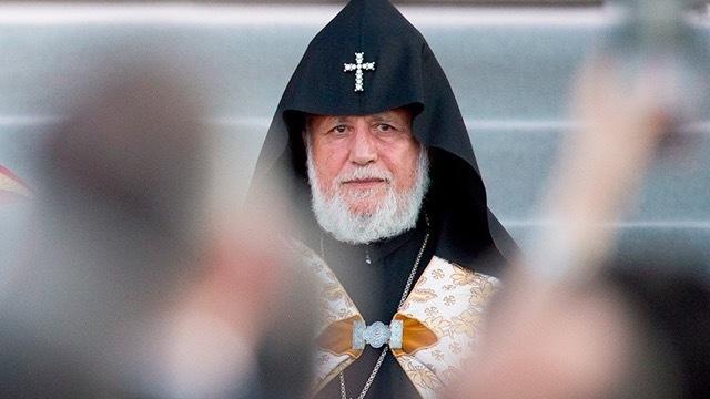 Католикос Всех Армян. Пожизненный крест