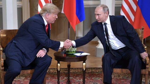 В Хельсинки состоялась встреча Президента России с Президентом Соединённых Штатов Америки