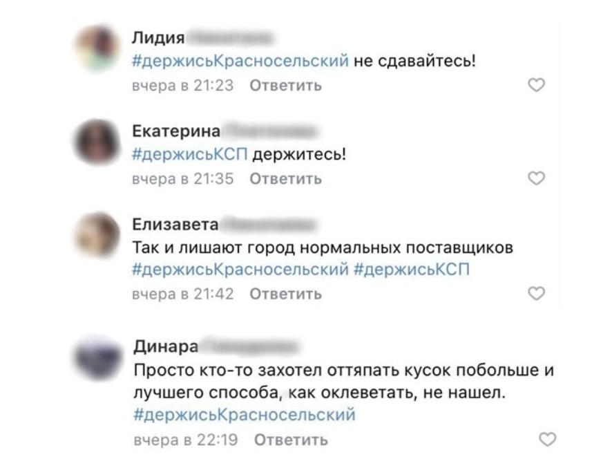 Сотни петербуржцев выступили в защиту «КСП Красносельский»